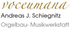 Voceumana Schrift Logo